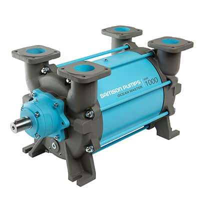 Pumps for fishing vessels