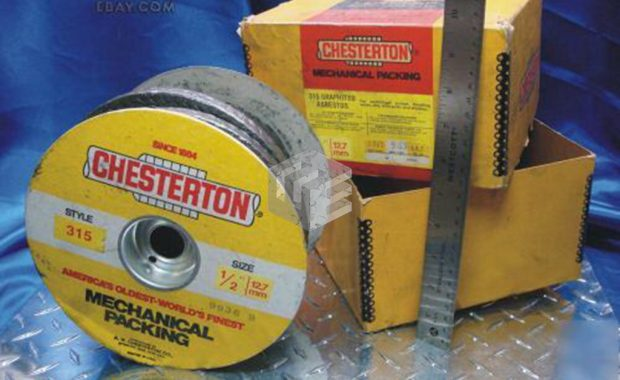 chesterton mechanical packing